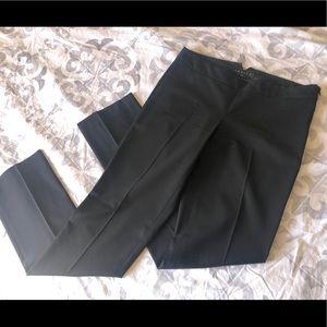 Theory Straight Leg Black Trousers sz 4
